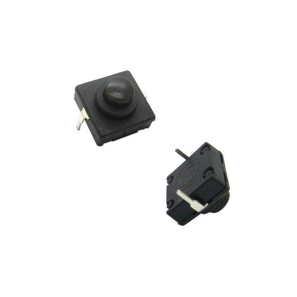 2c3277d7ba81b Кнопка для фонарика 12x12x9,4 с фиксацией ON-OFF 2 pin 112D - купить ...