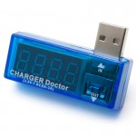Вольтметр-амперметр USB CHARGER Doctor (3.5V-7.0V, 0A-3A)