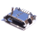 Гнездо micro USB 5pin HW-MC-5F-03