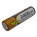 Элемент Li-ion 18650 2400mAh RAYMAX 3.7V 65x18mm
